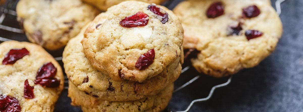 Cookies ai frutti esotici