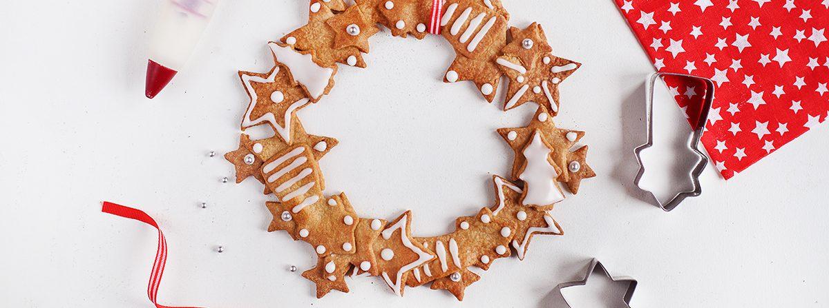 Corone di biscotti